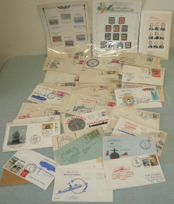 1: Assorted Foreign and U.S. Stamps and Covers