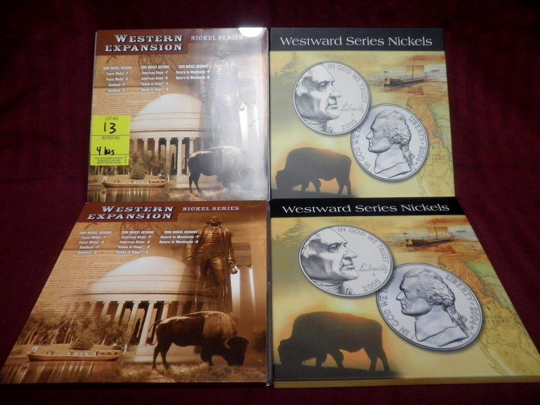 13: 4 Nickel Mint Sets - 2004 - 2006