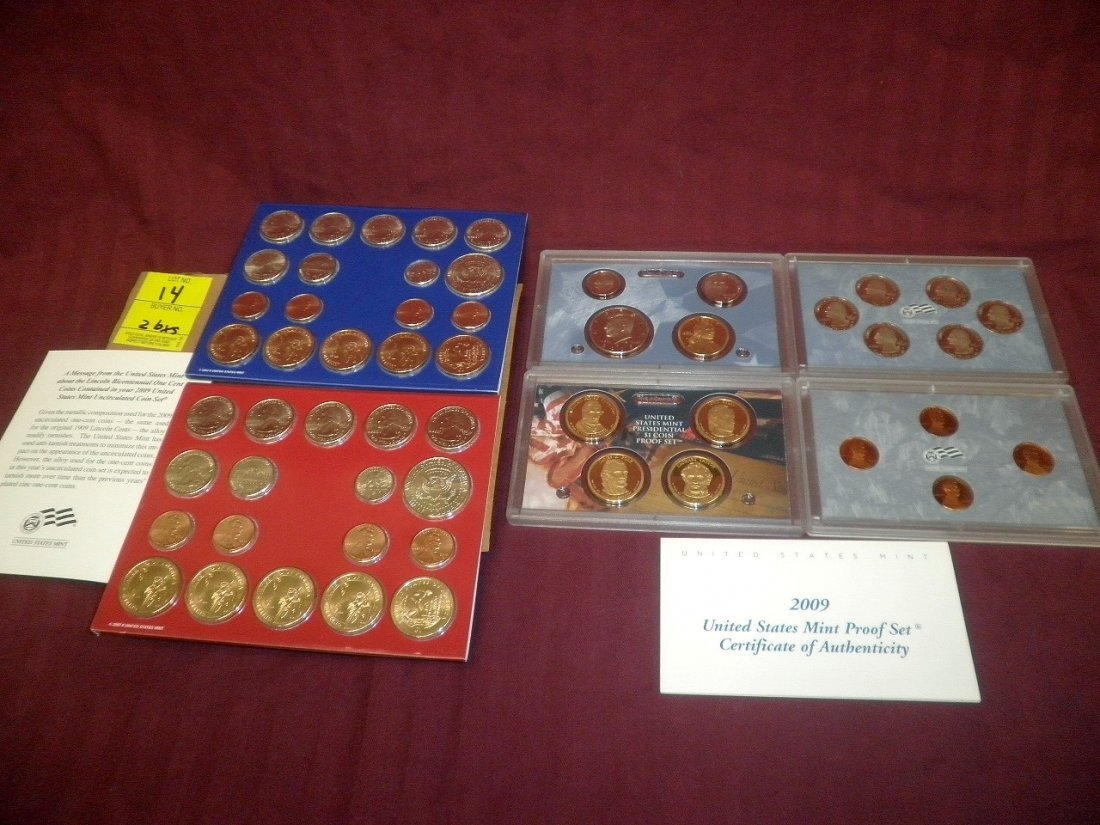 14: 2009 Mint and Proof Sets