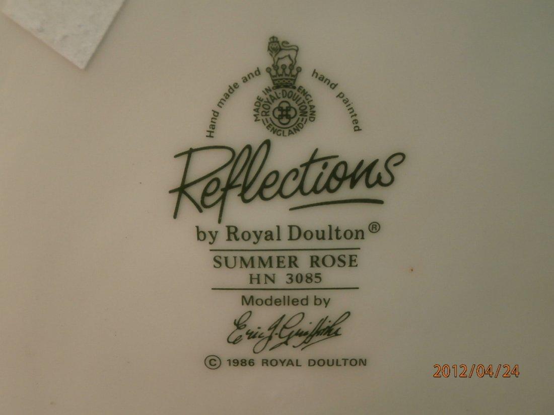 "89: Royal Doulton ""Summer Rose"" - 3"