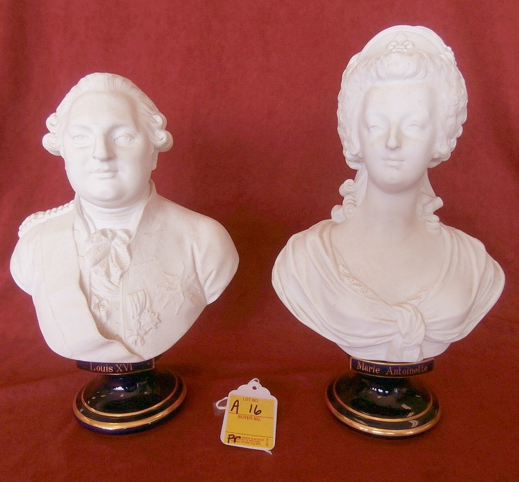 Pair Of Sevres Signed