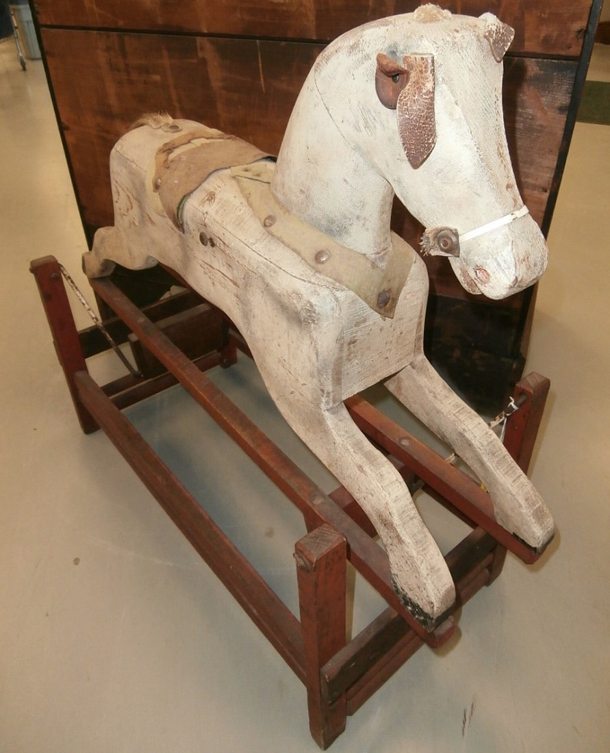 Antique Rocking Horse - 2
