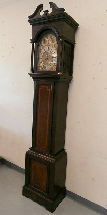 Maple and Co Ltd London Grandfather Tall Clock - 2