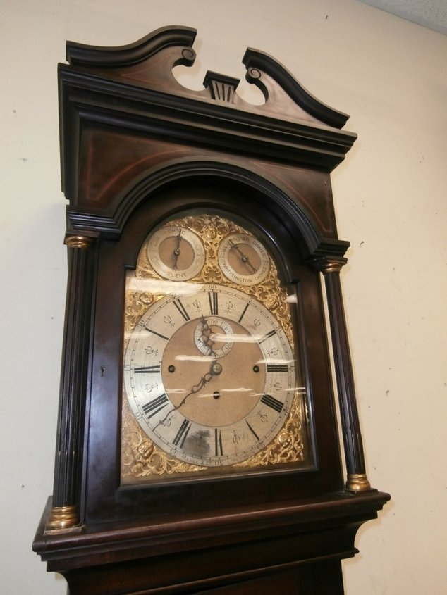 Maple and Co Ltd London Grandfather Tall Clock - 6