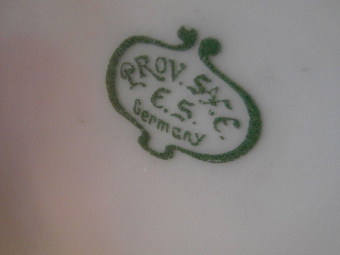 "Prov. Saxe E.S Germany Portrait Scenic Vase 11"" - 4"
