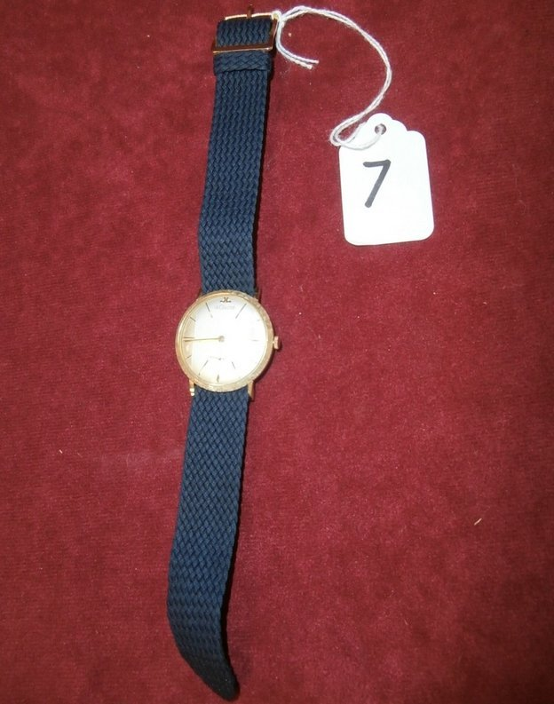 Vintage LeCoultre 14kt Men's Watch