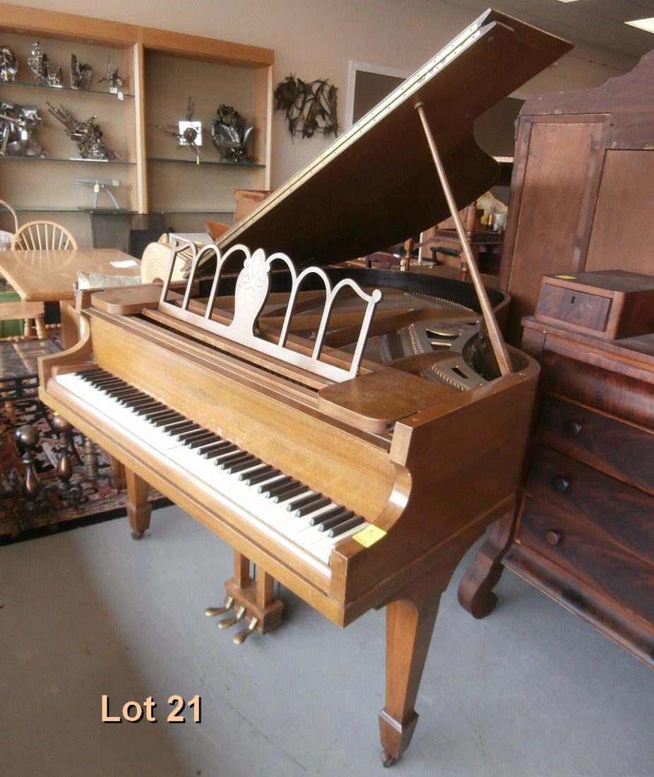 Chickering Baby Grand Piano 135  21