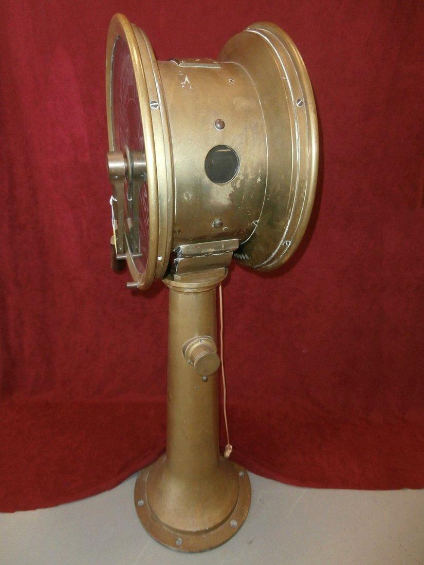 J.W. Ray & Co Ships Brass Telegraph Liverpool - 4