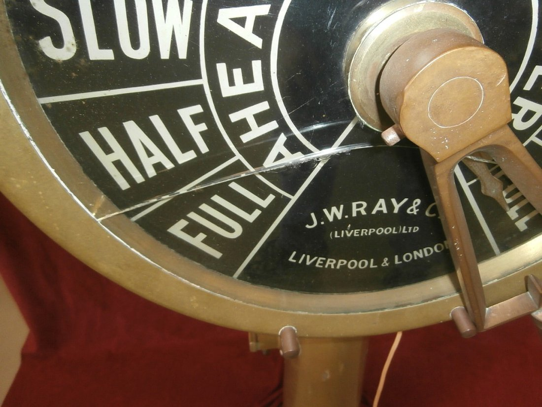J.W. Ray & Co Ships Brass Telegraph Liverpool - 6