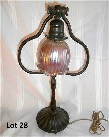 Tiffany Studios Student Lamp Original Shade