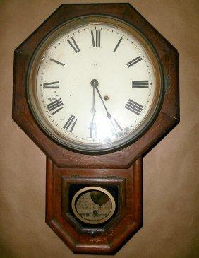 Seth Thomas School House Regulator Clock