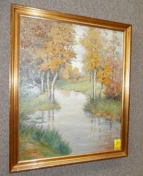 Charles V Brownlow River Landscape