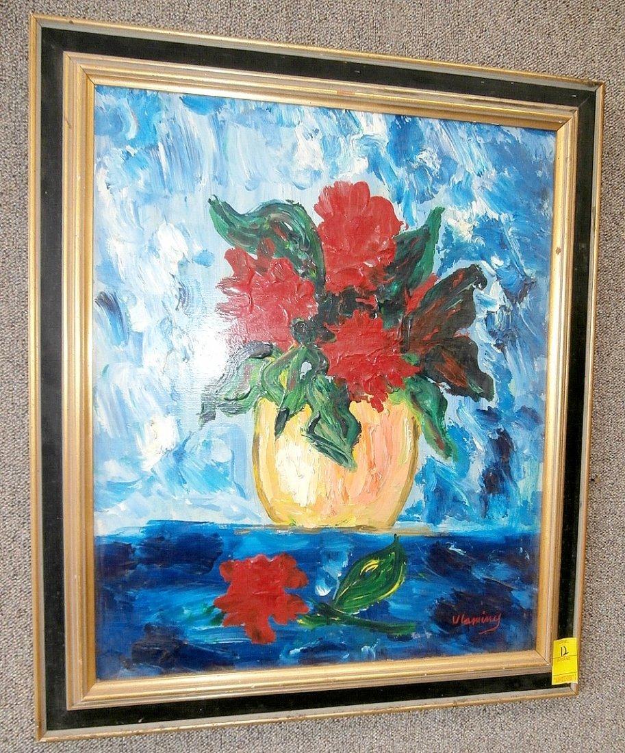Maurice De Vlaminck Still Life of Flowers