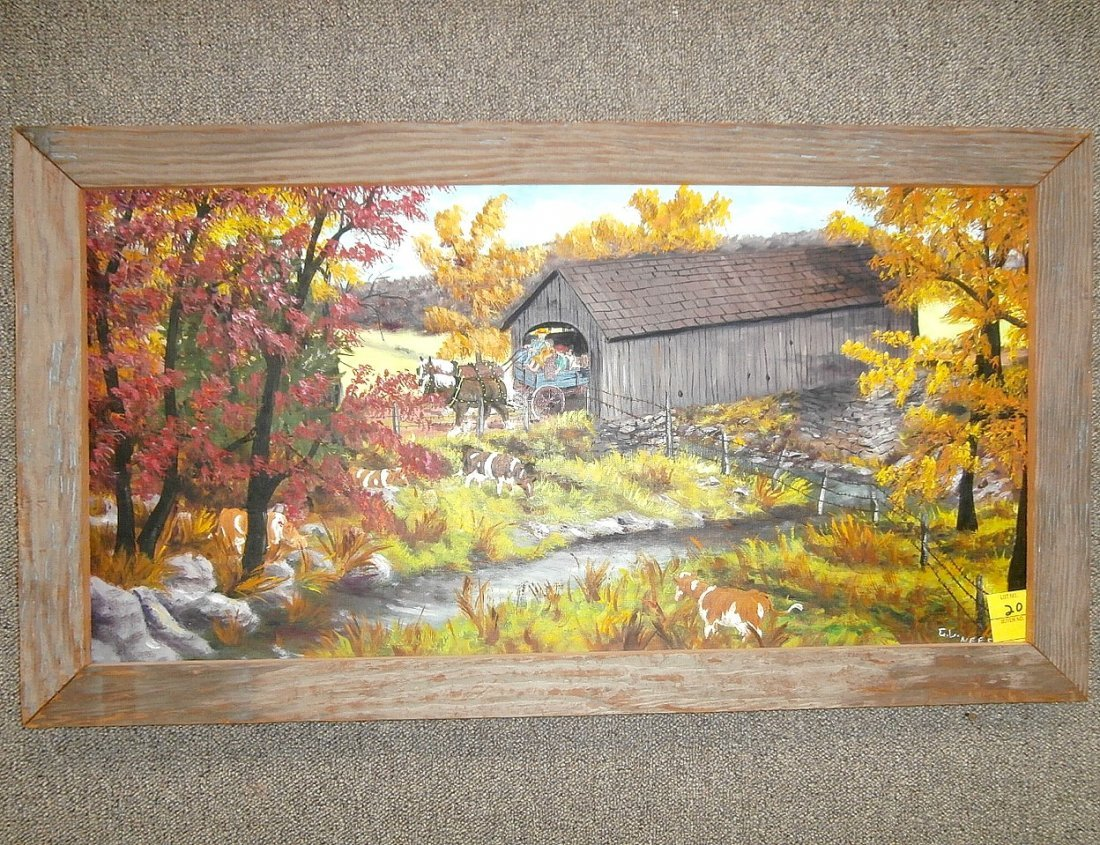 """Gerald Lee Nees """"A Fall Day in the Country"""""""
