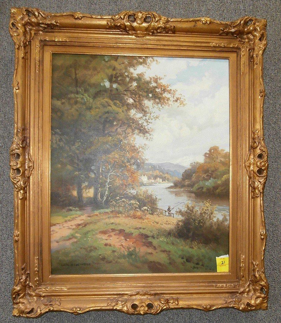 Charles Worcester Landscape with river