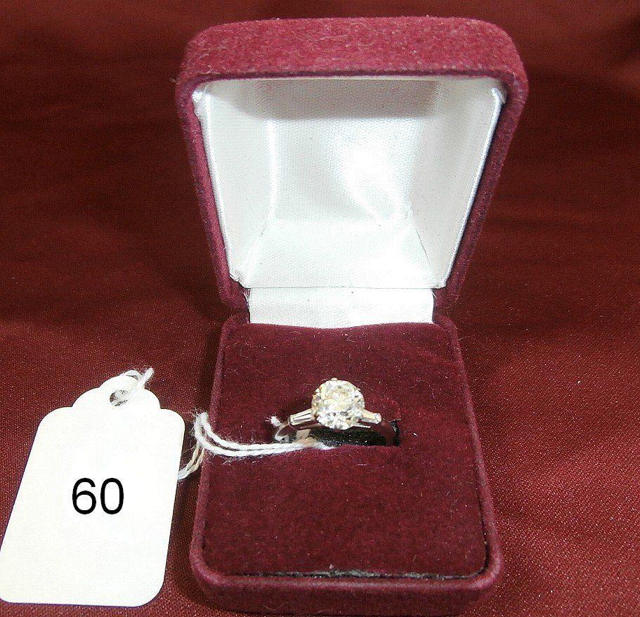 1920's 2 cttw Diamond Engagement Ring in Platinum