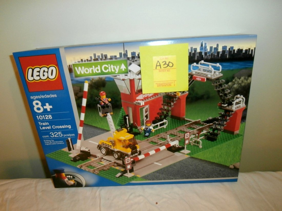 Lego Train Level Crossing