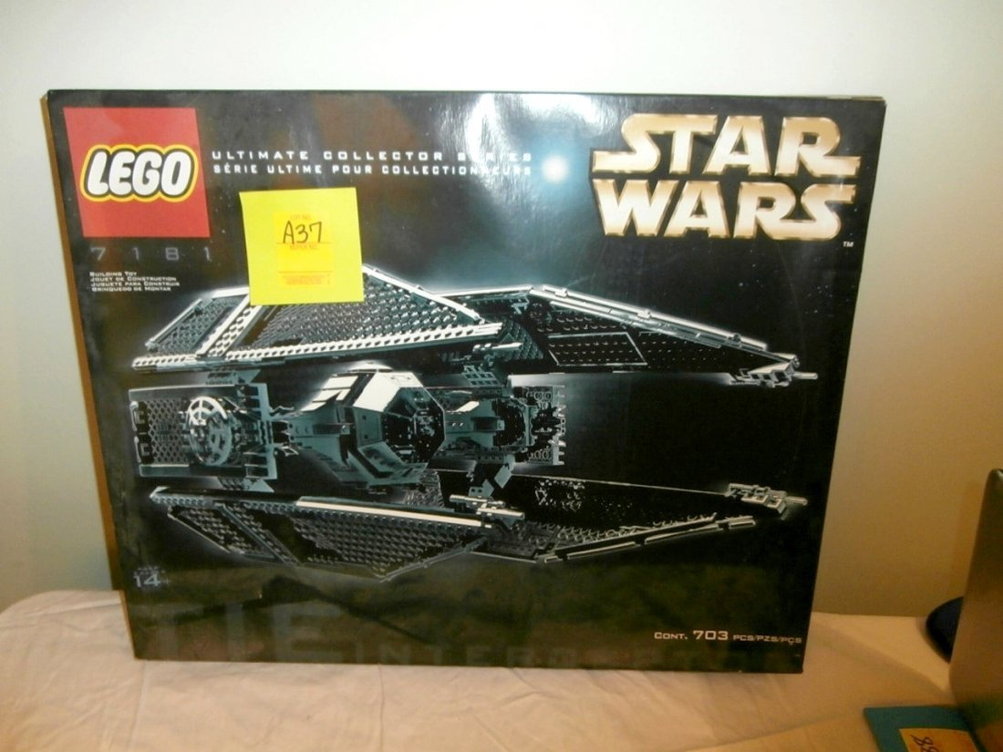 Lego Star Wars Tie Interceptor