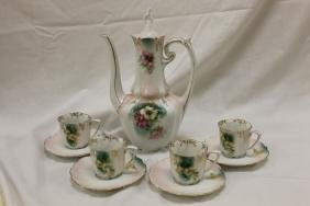 Red mark RS Prussia chocolate set with poppy