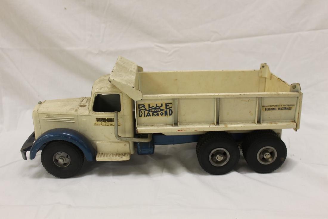 "Smith Miller ""Smitty Toys"" Blue Diamond Service Mack"