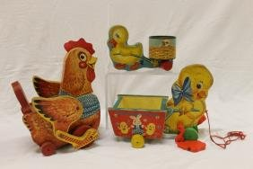 Fisher Price Toys: Katy Kachler The Red Hen, No. 140,
