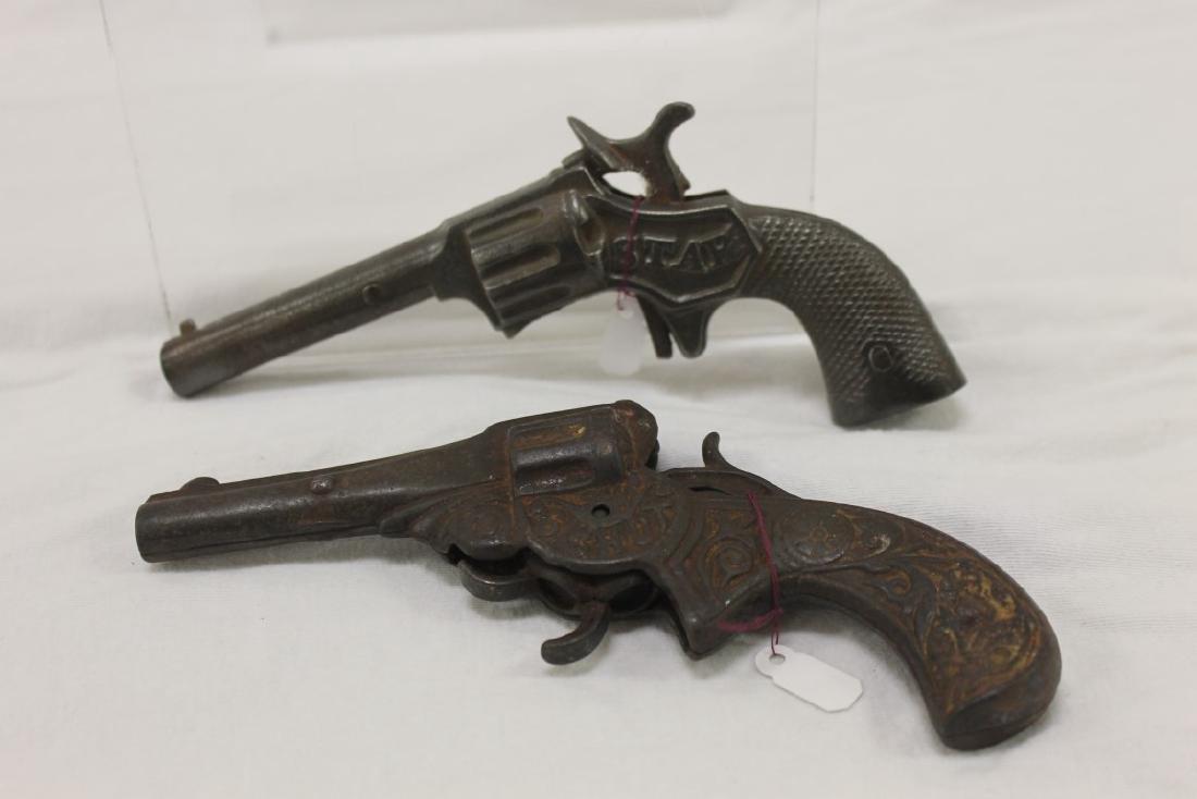 Stevens cast iron cap guns:  Star (S-29), c. 1890, 6
