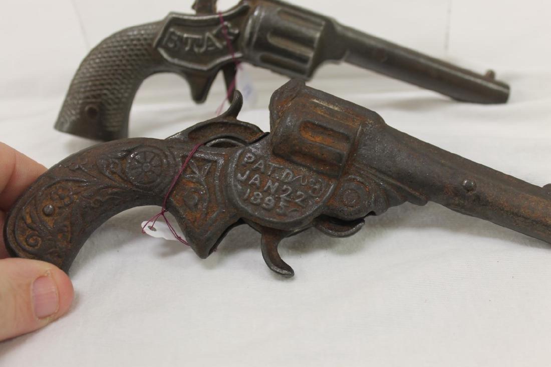 Stevens cast iron cap guns:  Star (S-29), c. 1890, 6 - 3