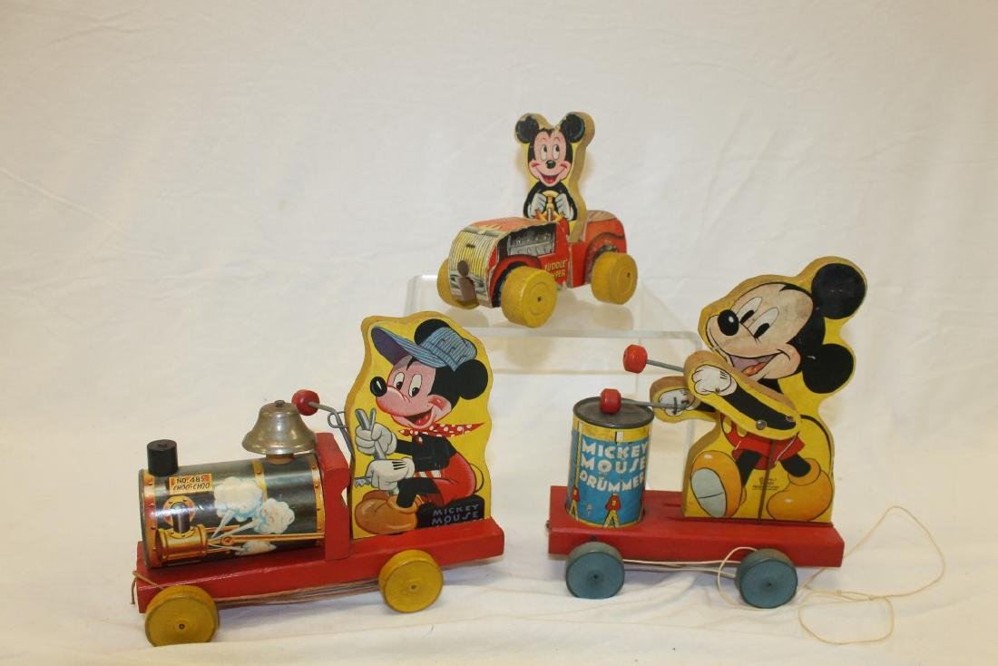 Fisher Price and Disney Toys:  Mickey mouse Choo Choo,