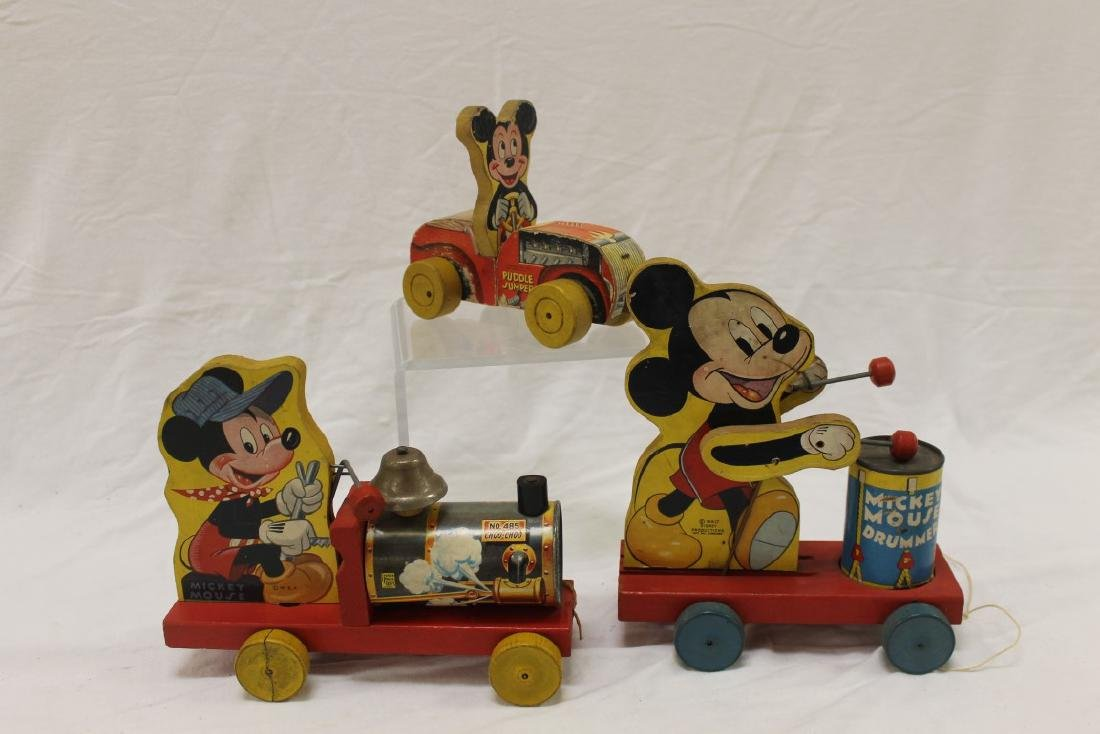 Fisher Price and Disney Toys:  Mickey mouse Choo Choo, - 2