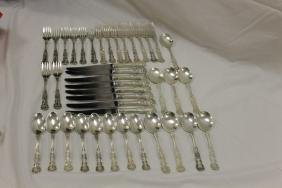 Gorham Buttercup sterling silver:  (8) each - dinner