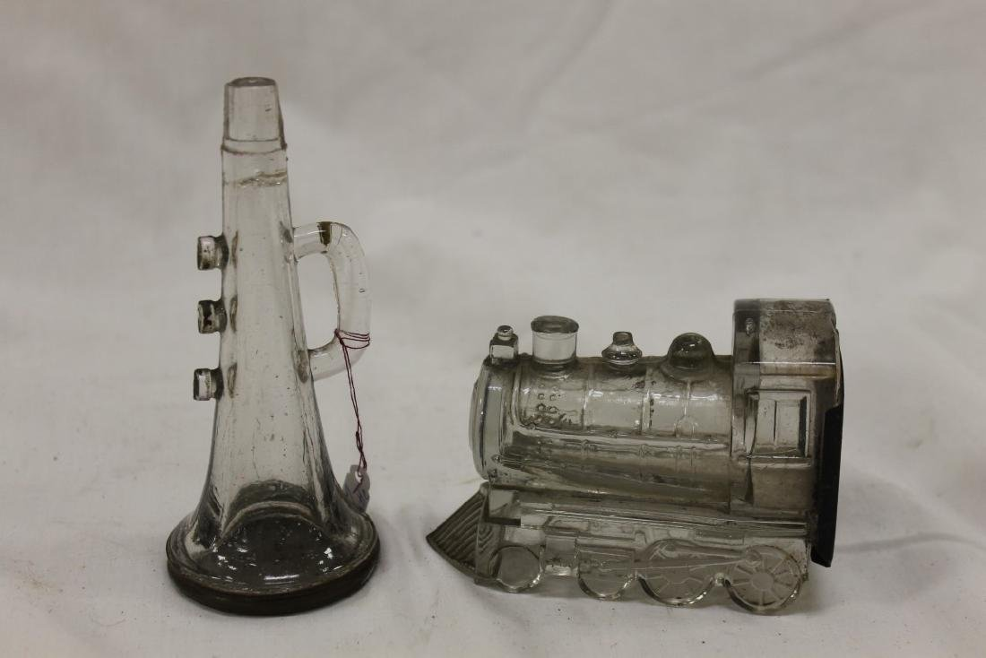 Candy containers:  Three Valve Horn, no whistle, screw