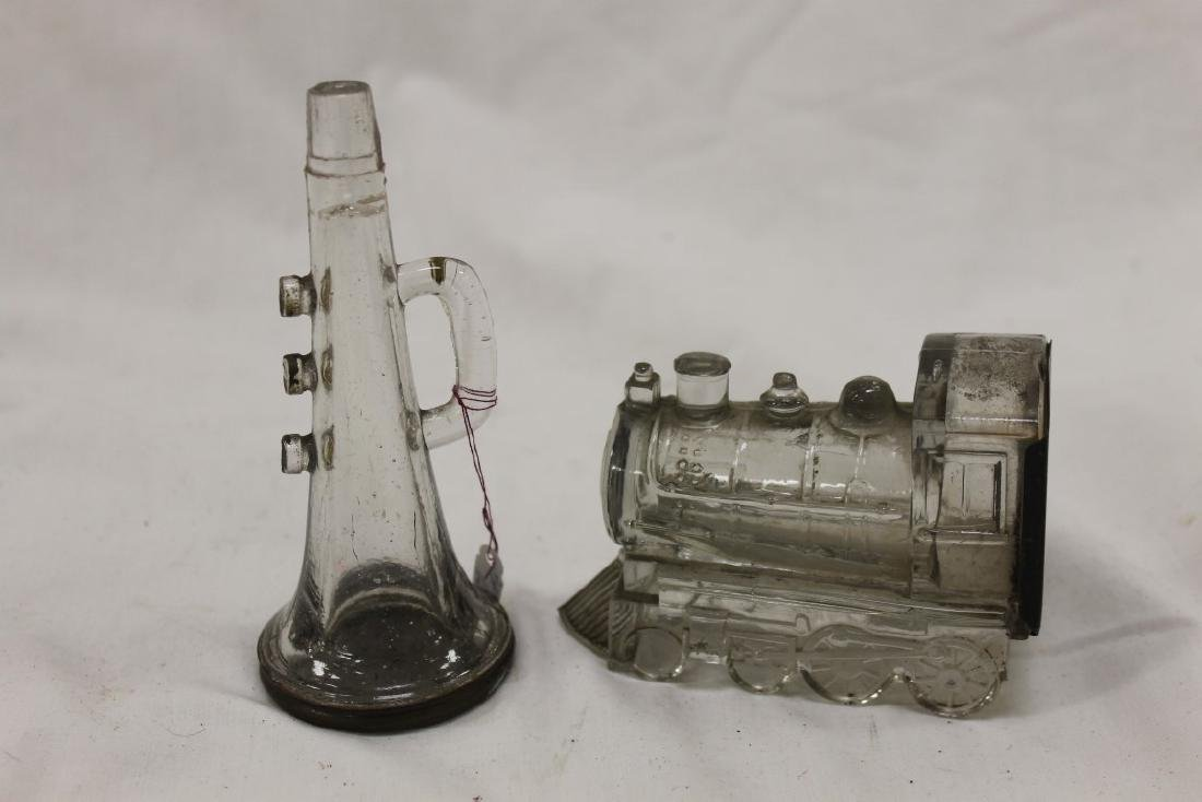 Candy containers:  Three Valve Horn, no whistle, screw - 3