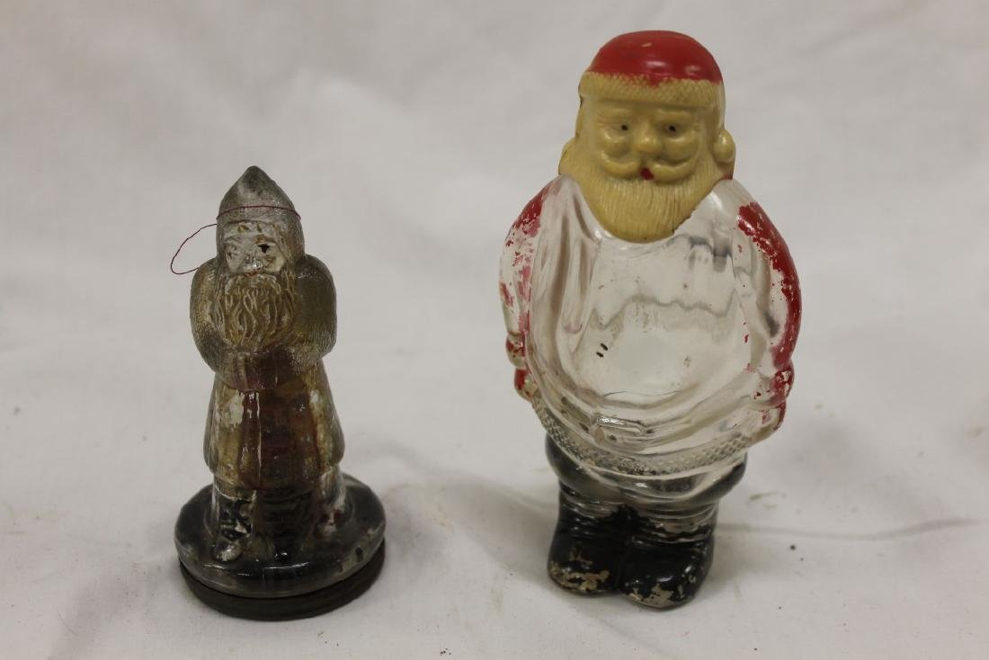 Candy containers:  Santa Claus in Double Cuff Coat,