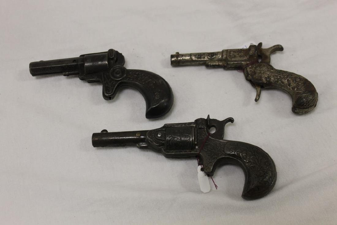 "Cast iron cap guns:  Stevens ""1776-1876"", c. 1876, 5"
