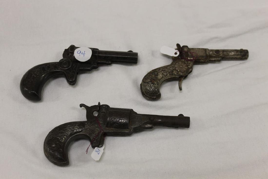 "Cast iron cap guns:  Stevens ""1776-1876"", c. 1876, 5 - 2"