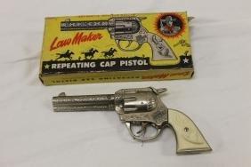 """Kenton """"Law Maker"""" Repeating Cap Pistol, 8 3/8"""", with"""