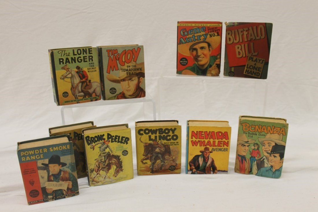 Big Little and other Children's Books:  #1436 Tim McCoy