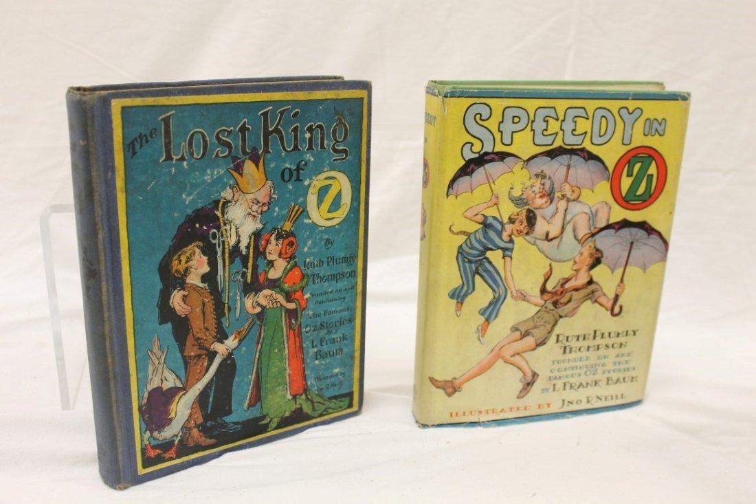 Oz Books:  The Last King of Oz; Speedy in Oz