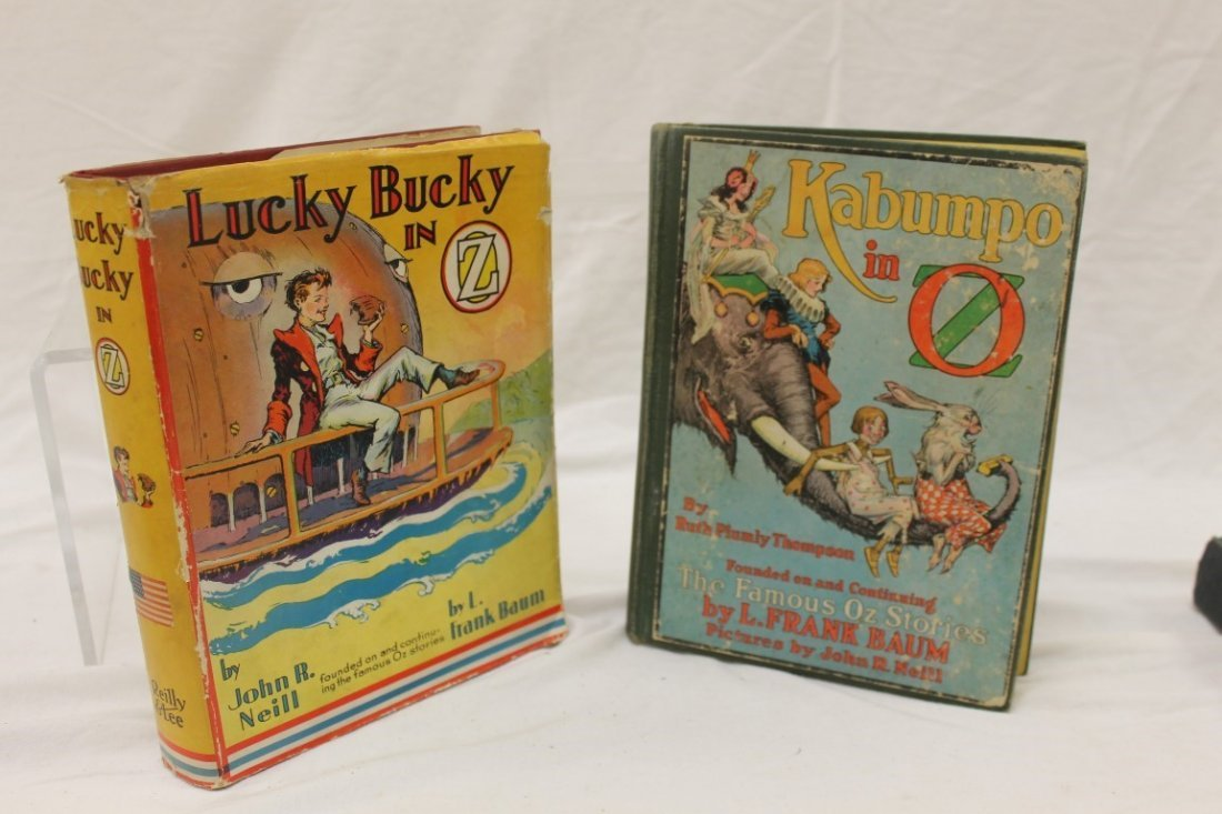Oz Books:  Lucky Bucky in Oz, and Kabumpo in Oz