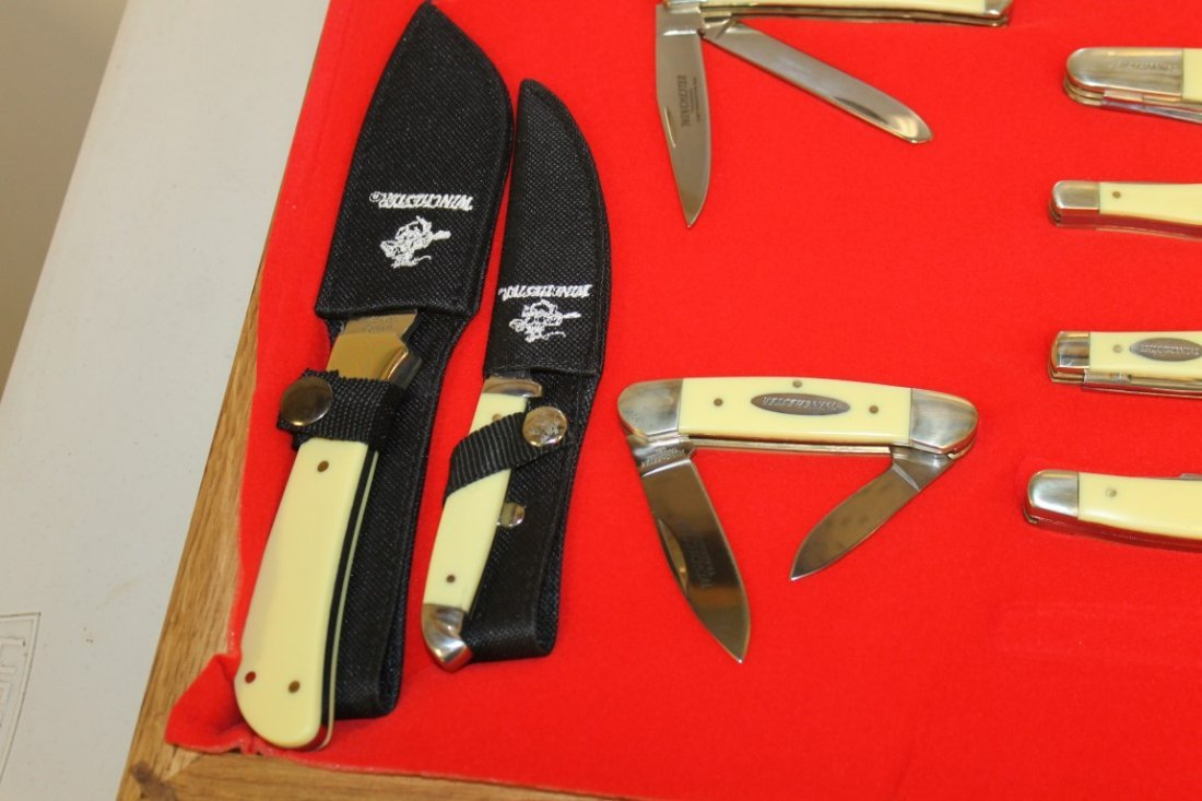 Group of (11) Winchester and (1) Case XX knives - 2