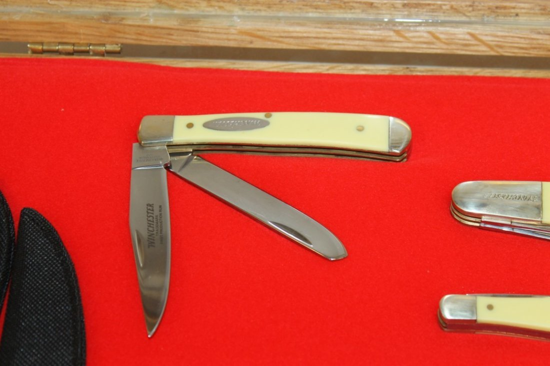 Group of (11) Winchester and (1) Case XX knives - 3