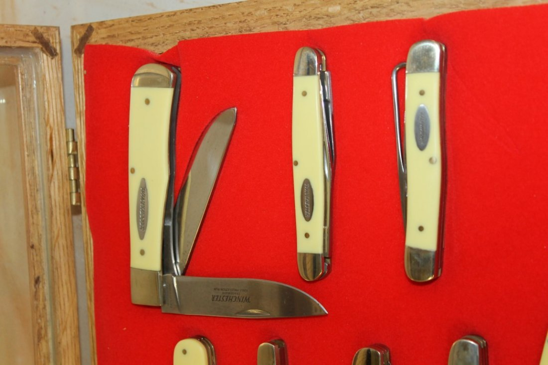 Group of (11) Winchester and (1) Case XX knives - 5