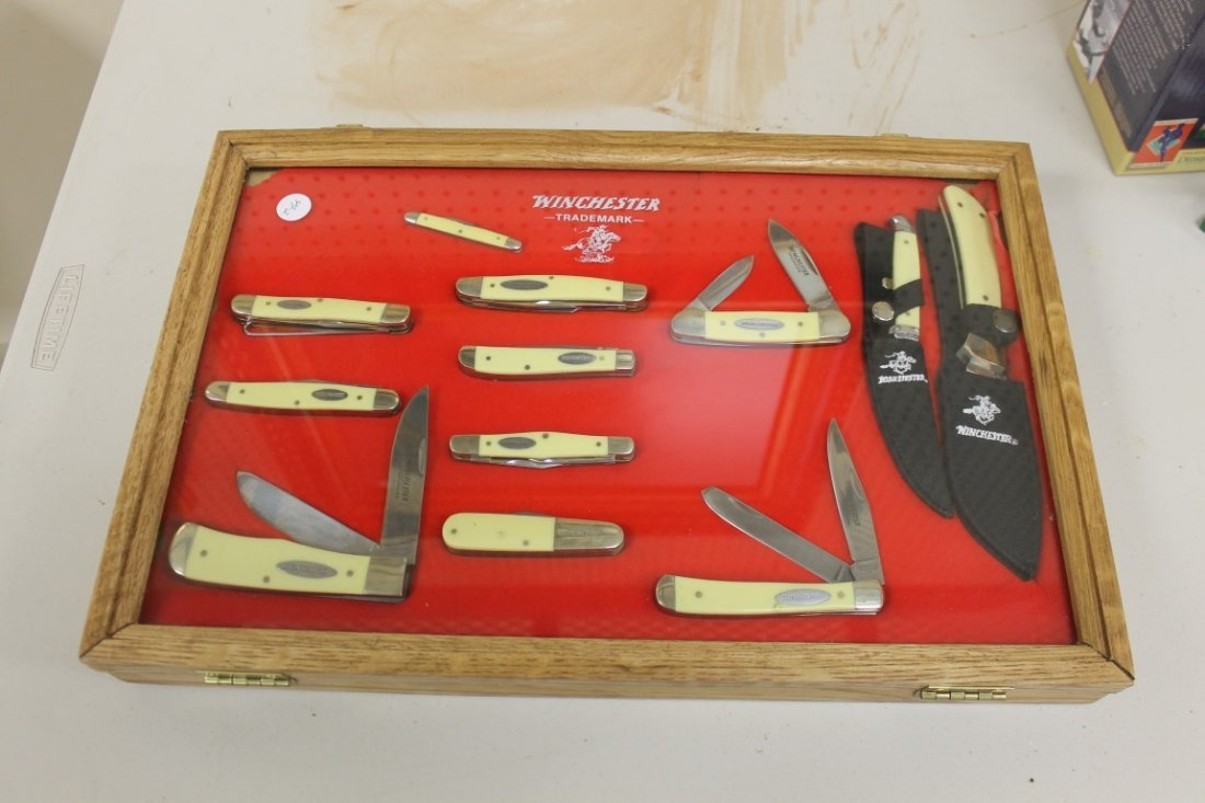 Group of (11) Winchester and (1) Case XX knives - 6