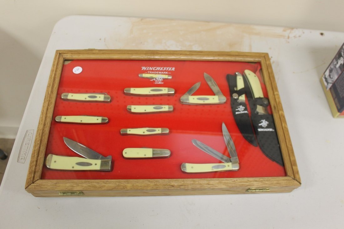 Group of (11) Winchester and (1) Case XX knives - 7