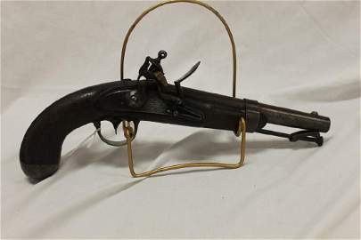 Asa Waters, Milbury, Mass 1844, M. 1836 martial pistol.