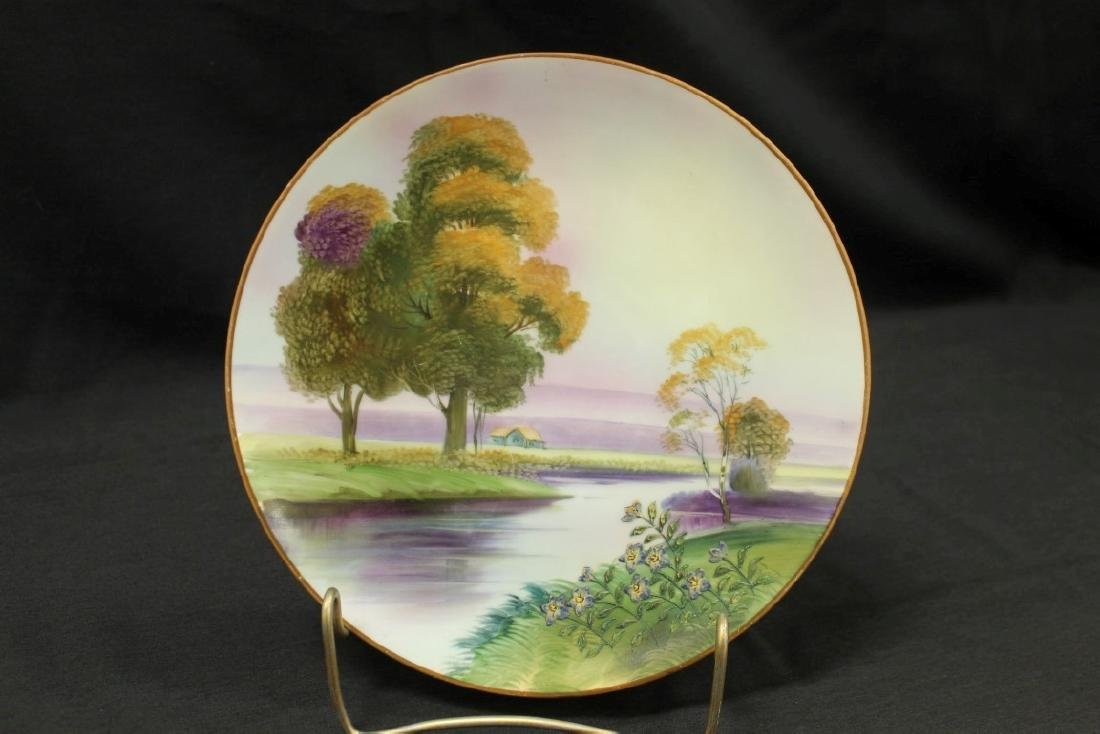 """Nippon Green M in wreath 9"""" landscape plaque with"""