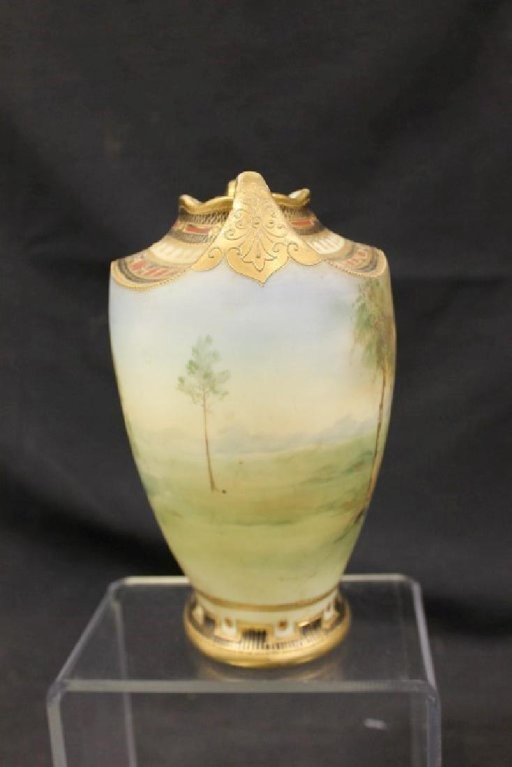 """Nippon Blue Maple Leaf matte finish 7 3/4"""" landscape - 4"""