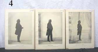 4: Wm. H. Brown silhouettes, c. 1844, Kellogg.  Thomas