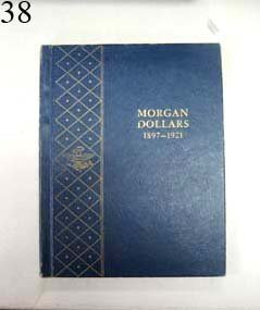 38: Book of 27 Morgan Dollars 1897-1921