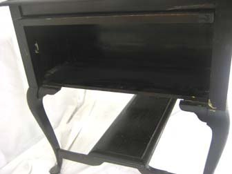 415: Auglaize Furniture Co New Bremen, OH desk with rai - 3